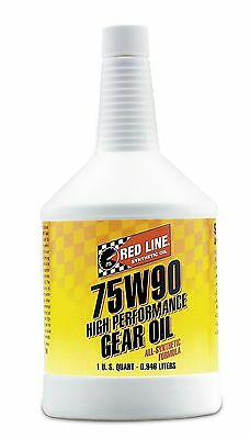 Red Line 57904 (75W90) Synthetic Gear Oil - 1 Quart 1 Quart (32 Ounces)