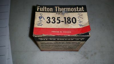 Fulton Thermostat 335-180 New Old Stock