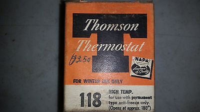 Thomson Thermostat 118 New Old Stock