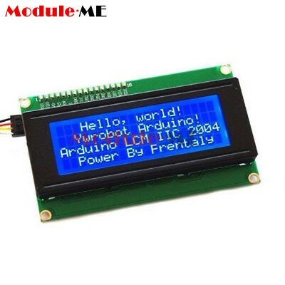 Blue/Yellow IIC/I2C/TWI/SP​​I Interface1602 2004 Character LCD Module Display MO