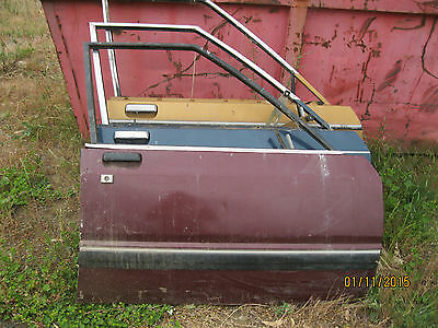 Ford Falcon Xd Xe Xf Right Front Doors, S/hand Parts