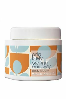 Orla Kiely Body Cream 200ml Orange Caraway