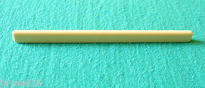 Classical Guitar Saddle Cream-Coloured 80 x 2.5 x 6 to 5.5mm UK