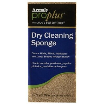 Careware Dry Cleaning Sponge, 6 by 2-7/8 by 1-3/8-Inch