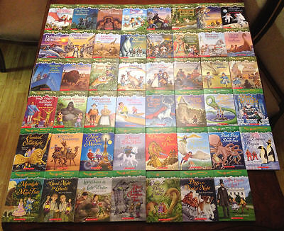 10 Magic Tree House Fact Tracker Books for $19 and Free Shipping!