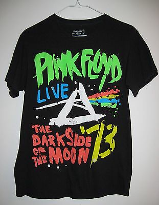 T Shirt Pink Floyd Dark Side of The Moon Official Licensed Product Small/Petite