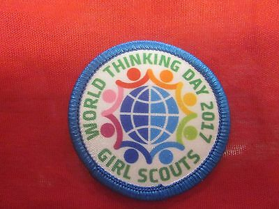 Girl Scouts World Thinking Day 2017 Patch
