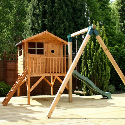 Tulip Playhouse with Tower & Activity Set