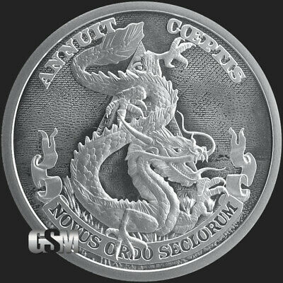 2019 - 1 oz The Sage BU MiniMintage Silver Round Silver Shield .999 Fine PRESALE