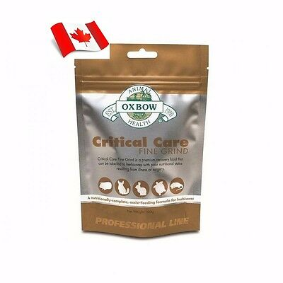 Oxbow Animal Critical Care Fine Grind Premium Recovery Food 100g