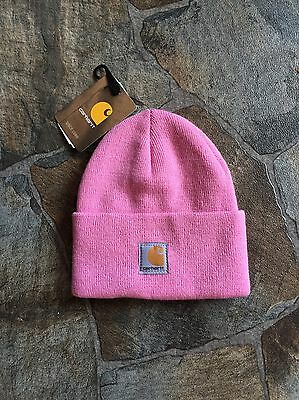 New!! Carhartt Youth Pink Beanie!!(OSFM)