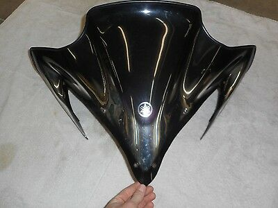 2006 Yamaha Apex Mid Black Silver Windshield Vector 8FT-K7210 SMA-8FT96-20-BK