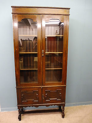 Antique Oak Bookcase Circa 1910