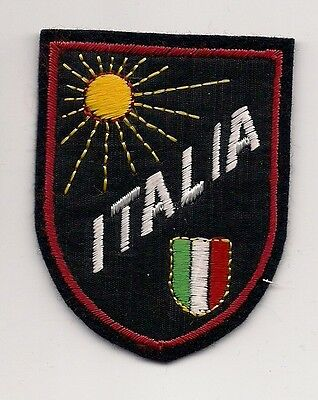 Country Of Italy Souvenir Patch -