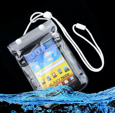 Compass Waterproof Transparent Pouch Dry Bag Case For iPhone 6 Plus 5.5''