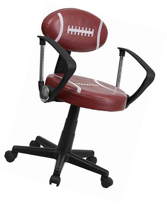 Flash Furniture BT-6181-FOOT-A-GG Football Task Chair with Arms