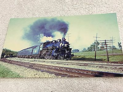 CHICAGO AND NORTHWESTERN Es Class (4-6-2) #608 Post card