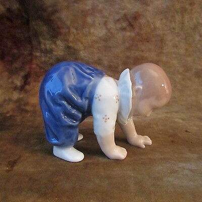 Royal Copenhagen 'CRAWLING BABY BOY' Figurine/1518/MINT!