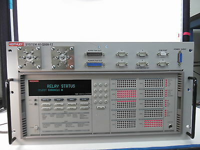 Keithley S40-Q009-12 8:1 SUBSCRIBER SWITCH w 7002 Switch & 5 Modules