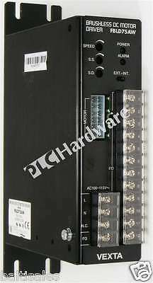 Oriental Motor FBLD75AW Brushless DC Speed Controller 1-Ph 100-115V AC 75W Qty