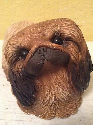 Sandicast Pekingese Dog Figurine