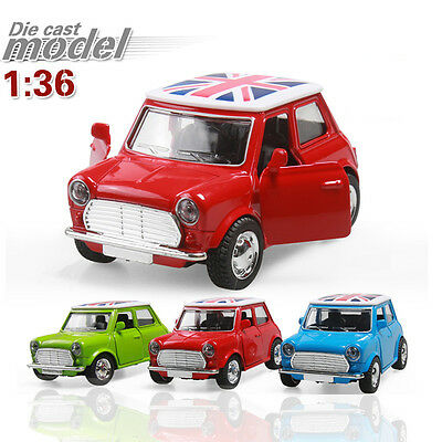 Green 1:36 Alloy Model Car Toys Gift Mini Pull Back Children's Toy Car Model