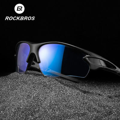 RockBros Cycling Photochromic Sunglasses Bike Polarized Glasses Sports Goggles