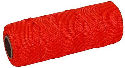 MARSHALLTOWN The Premier Line ML338 Mason's Line 500-Foot Fluorescent Orange Bra