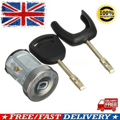 Ignition Switch & Lock Barrel Cylinder Set + 2 Keys For Ford Transit MK7 06-ON