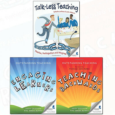 Outstanding Teaching Collection Talk-Less Teaching 3 Books Set Pack NEW [PB]