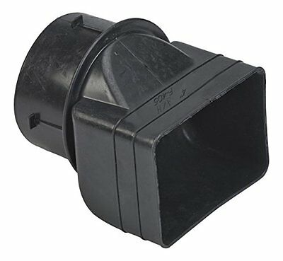 "Mutual Industries 0465-0-0 Downspout Adapter, 3"" x 4"" x 4"""