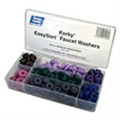 "Lavelle Industries 000149 ""Korky Easysort"" 200-Piece Faucet Beveled Washer Kit"