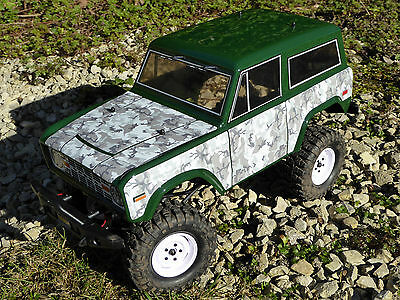 RC Rock Crawler WINTER CAMOUFLAGE Stickers Decals FTX RGT HSP OUTBACK TREKA