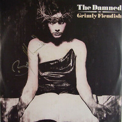 The Damned, Grimly Fiendish, NEW/MINT 7 inch vinyl single signed by Bryn Merrick