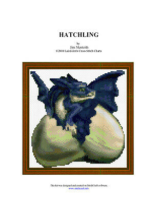 Hatchling - Cross Stitch Chart
