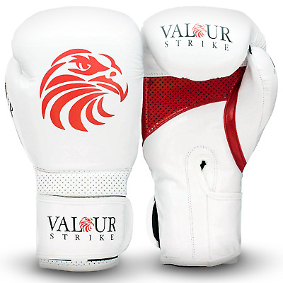 Pro Boxing Gloves 4oz - 16oz Punch Bag Sparring Fight MMA Muay Thai Grappling