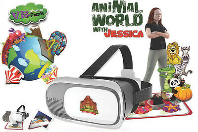 NEW!! Animal world with Jessica Virtual Reality VR 3D Android iPhone Educational