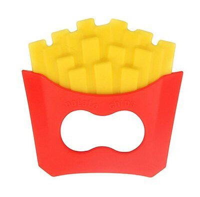French fries Silicone Baby Teether Toy Gum Nursing Accessories Toddler Teething