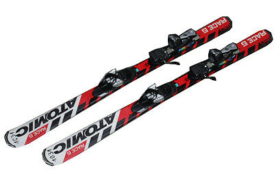 Atomic Ski Race 6 Kinderski 120 cm gebraucht Junior Bindung Atomic Sy17 1031