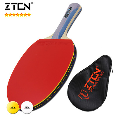 New Racquet ZTON 7 stars Table tennis racket Ddouble Pimples-in rubber
