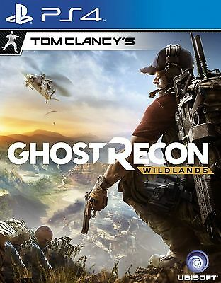 New Sony PS4 Game Tom Clancy's Ghost Recon Wildlands HK version English / Chines