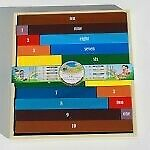 NEW! QToys Montessori Inspired Kids Educational Wooden Counting Rods