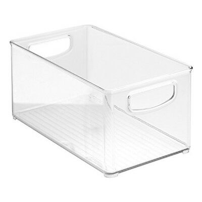 "InterDesign KitchenOrganizerBinPantry,Refrigerator&Storage Cabinet10""x6""x5""Clear"