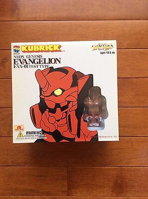 Neon Genesis Evangelion Eva-01 Test Type Kubrick Medicom Toy Co.New Anime Manga
