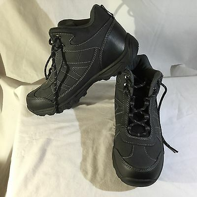 NEW Men's Black High Top Hiking Tennis Shoes Size 9