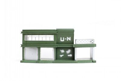 Military Headquarter Model Plastic Toy Soldier Army Men Accessory sand table