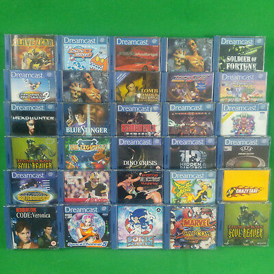 Dreamcast Game Selection Collection Games *Choose Yourself*