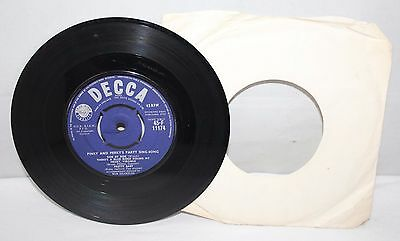"7"" Single - Pinky & Perky's Party Sing Song - Decca 45-F 11174 - 1959"