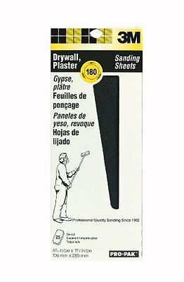 3M 99439NA Pro-Pak Drywall Sanding Screens 180-Grit, 4-3/16 by 11-1/4-Inch