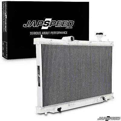 Japspeed Lightweight High Flow Aluminium Race Radiator For Honda Civic Typer Ep3